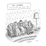The Lintners: Stuck On The Sofa Since 1982 - New Yorker Cartoon