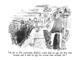 """""""As far as I'm concerned  Halley's comet laid an egg the first time around…"""" - New Yorker Cartoon"""