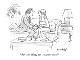 """For one thing  our colognes clash"" - New Yorker Cartoon"