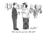 """""""How long have you been a Mets fan"""" - New Yorker Cartoon"""