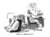 """Hello-o-o  Dullsville here"" - New Yorker Cartoon"