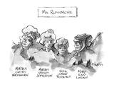 Ms Rushmore - New Yorker Cartoon