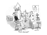 """""""You're dewy-eyed"""" - New Yorker Cartoon"""