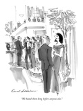 """""""We hated them long before anyone else"""" - New Yorker Cartoon"""