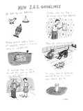 New IRS Guidelines - New Yorker Cartoon