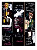 Horn Players, 1983 Reproduction d'art par Jean-Michel Basquiat