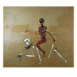 Riding with Death, 1988 Reproduction d'art par Jean-Michel Basquiat