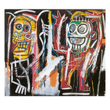Dustheads, 1982 Reproduction d'art par Jean-Michel Basquiat