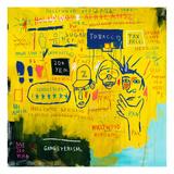 Hollywood Africans, 1983 Reproduction d'art par Jean-Michel Basquiat