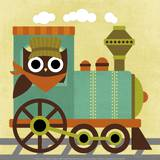 Owl Train Conductor