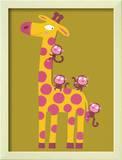 The Giraffe and the Monkeys
