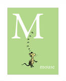 M is for Mouse (green)