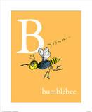 B is for Bumblebee (orange)