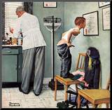 """""""Before the Shot"""" or """"At the Doctor's""""  March 15 1958"""