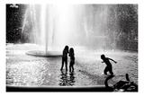 Fountain Play Reproduction d'art par Evan Morris Cohen