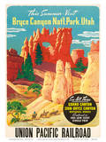 Bryce Canyon  Union Pacific Railroad c1935