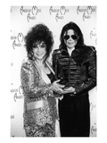 Michael Jackson and Elizabeth Taylor - 1993