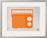 Orange Transistor Radio