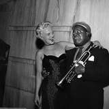 Louis Armstrong and Peggy Lee - 1954