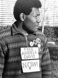Angela Davis supporter - 1972