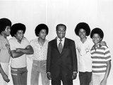 The Jackson Five and John H Johnson