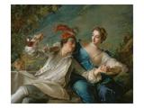 The Lovers (Chivalric Scene)  1744