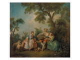 The Birdcage (Les Amours Du Bocage)  about 1735
