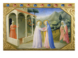 Visitation  from the Predella of the Annunciation Alterpiece