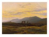 Die Ruine Eldena Im Riesengebirge  1830/1834
