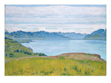 Landscape at Lake Geneva  1907