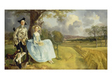 Mr and Mrs Andrews  about 1750
