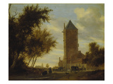 The Watchtower at the Country Road Probably around 1660