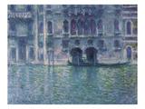 Der Palazzo De Mula in Venedig  1908