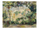 Landscape with View of the Newly Built Sacre-Coeur  about 1896
