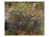 Women in the Flowers  1875