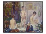 The Models (Les Poseuses) Second Version  1888