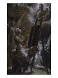 St Luke Painting the Virgin  1582