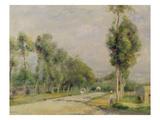 Rural Road Near Louvecienne  1895