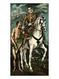 Saint Martin and the Beggar  1600/14