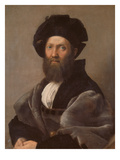 Portrait of Baldassare Castiglione  about 1514/15