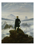 The Wanderer Above the Sea of Fog  about 1818