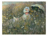 In the Flowering Meadow (Dans La Prairie)  1876