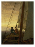 On Board a Sailing Ship  1819