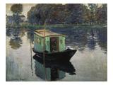 Monet's Studio-Boat  1874