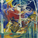 Deer in the Forest I  1913