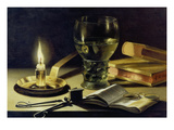 Still-Life with Burning Candle  1627