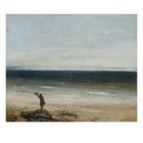 The Seashore at Palavas  1854