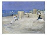 Am Strand Von Nordwijk  1908