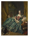 Portrait of Madame De Pompadour  1756