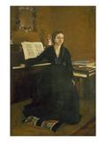 Madame Camus at the Piano  1869